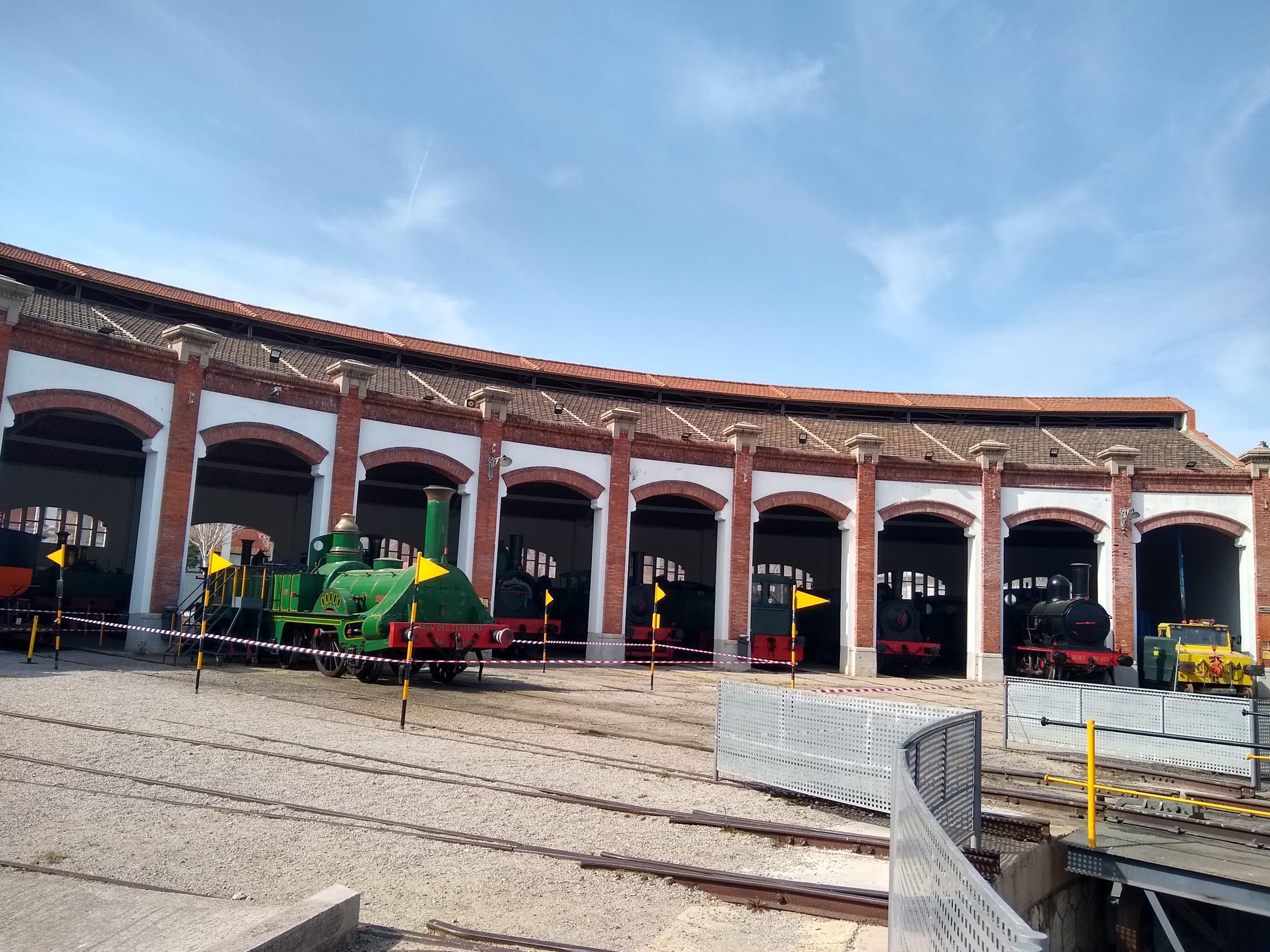 Museo del Ferrocarril de Catalunya, Vilanova i la Geltrú